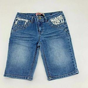 Squeeze Girls Bermuda Shorts Sz 12